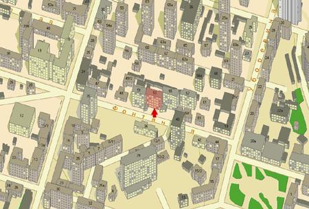план проезда к зданию Приморского краевого суда